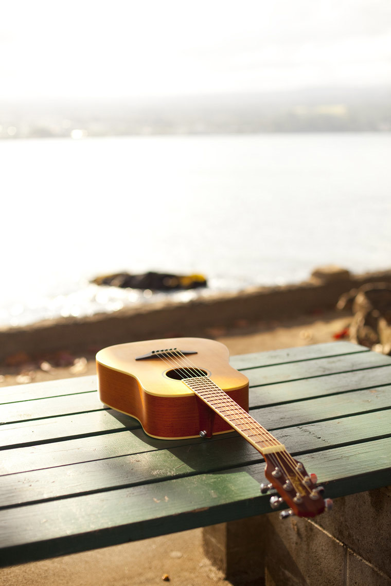 Guitar in Hilo Bay
